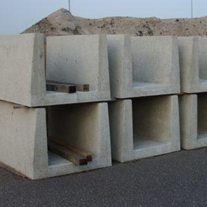 Betonnen kabelgoten