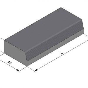 Projectbanden profiel 37/40x20cm