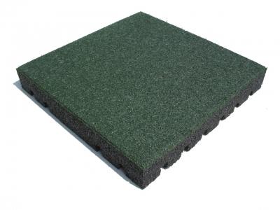 Rubbertegels groen